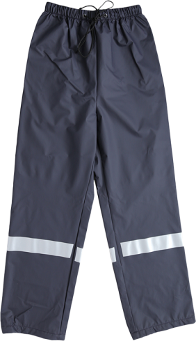 Pantalon de pluie Marine Bande-Retro Allmer - M0001348 - Photo 0